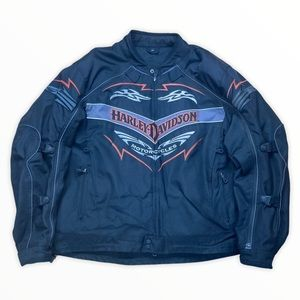 Harley Davidson Men's Motorcycle Jacket Size 3XL